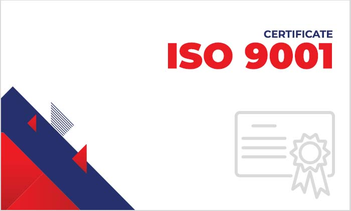 Certificate Thumbnail - ISO 9001